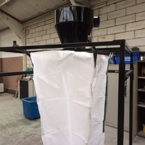 New Cyclone & Adjustable Height Bag Stand